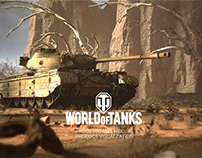 World of Tanks: Progetto M35 mod. 46 visualization