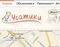 "Portal About Animals ""Usatiki"""
