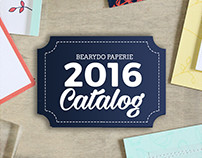 Bearydo Paperie Stamp Catalog - Senior Thesis Project