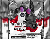 Never Say To Late For Love At The Ego Coffee