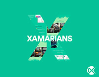 Xamarin Tech Landing page