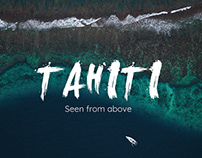 Seen from above : TAHITI