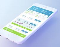 Transportation App - concept