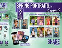 Leonard's Photography: Spring Portraits 2018 Flyer