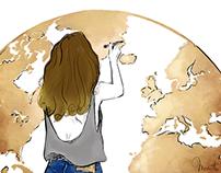 Illustration pour le blog Journal Suave !