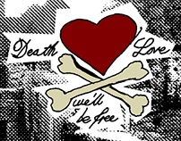 Death & Love - Rock Poster