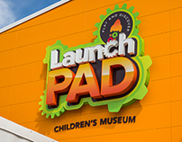 Launch PAD Children's Museum - Logo