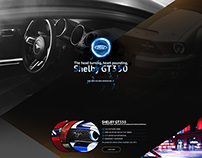 landing page - ford mustang