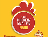 MARKETING ASSETS FOR CHICKEN 'N' TINZ