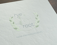 Rye & Root Logo