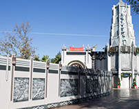 Universal Studios Hollywood: Construction Barricades