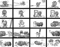 Mobily Clay Storyboard