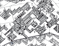 Dystopian City. Reimagine The Ksar of Ait Ben Haddou