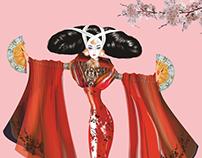 Changjiao Miao Couture Ilust. Corel Draw 2017