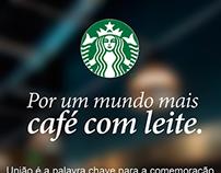 Starbucks - 1° de Janeiro, Dia Mundial da Paz