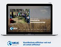 UI / UX :: website meuc.org.br