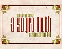 A sogra Ruth -a condensed deco font-
