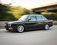 BMW M5 E28 Photoshoot