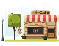 Cafe Motion Graphic