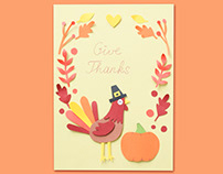 Thanksgiving Card | DIY