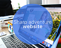 """sharp adventure"" website of excursion"