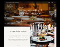 SJ Blossom - Responsive Joomla Template for Restaurant