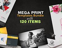Mega Print Templates Bundle With 120 Items