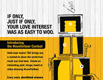 #LoveForBeer Digital Campaign