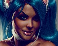 Felicia from Darkstalkers.