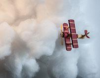 Air paper plane