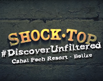 Shock Top - Discover Unfiltered Belize