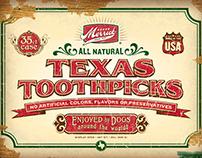 Merrick Pet Care / Texas Toothpicks Box