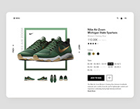 E-comerce product page exploration.