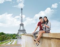 Air Transat 2016, Europe campaign