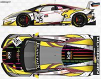 Lamborghini Huracan GT3 Team Marc VDS