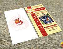 Thiệp mời Lễ Bổn Mạng Thánh Phanxico Xavie