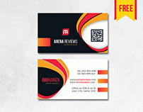 Orange Modern Professional #businesscard Template