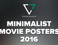 Minimalist Movie Posters - 2016
