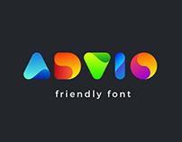 Advio friendly font