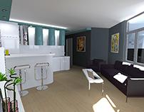 Apartment 3D visualization
