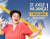 Campanha de Comunicação Visual Academia Bailar