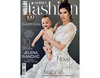JELENA IVANOVIC // HELLO! FASHION SERBIA