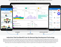 PeppyOcean : On Demand App Development