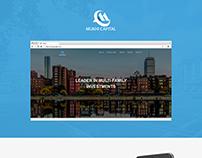 Mukhi Capital website Design and Development