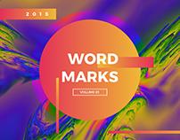 WORDMARKS | Volume 1 (2015)