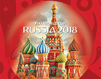Poster Russia 2018 World Cup
