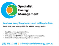 Specialist Energy Management