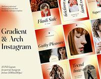 Gradient Social Media Kit CANVA