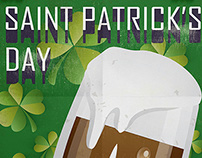 St Patrick's Day Specials Poster
