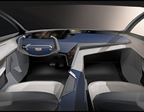 Cadillac 2025 concept interior
